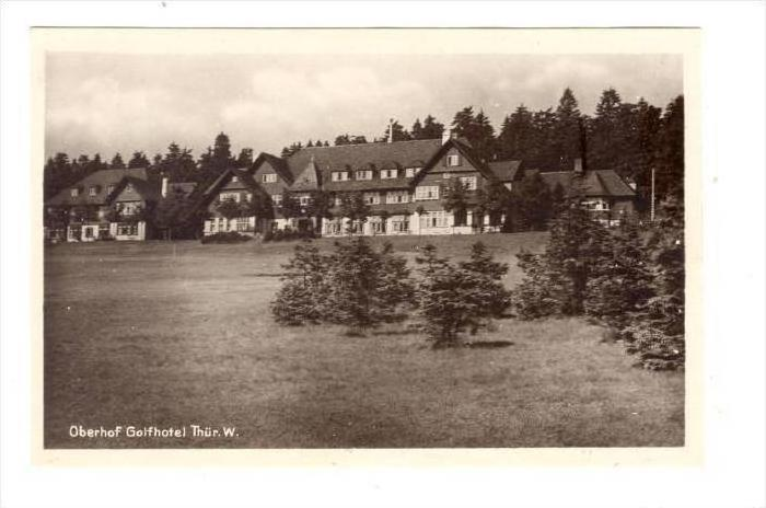 RP, Oberhof Golfhotel, Oberhof (Thuringia), Germany, 1930-1950s