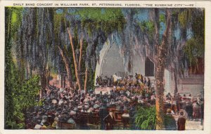 P1794 vintage band concert williams park the sunhine city florida st. petersburg