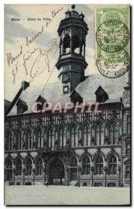 Postcard Mons Old Town Hall