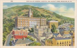 West Virginia Wheeling Ohio Valley General Hospital and Nurses' Home 1939 Cur...