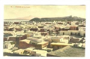 Aerial View, TUNIS et le Lac, Tunisia, 00-10s