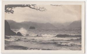 Cumbria; A Stormy Day, Derwentwater RP PPC, 1922 PMK, By Abraham