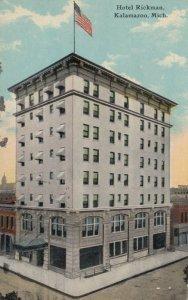 KALAMAZOO , Michigan , 1911 ; Hotel Rickman, version 2