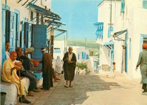 Tunisia Sidi Bou Said ethnic types