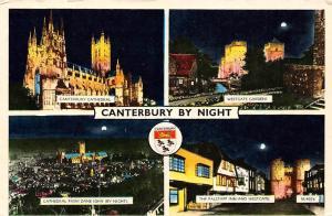 Canterbury by Night Cathedral Westgate Gardens, Falstaff Inn