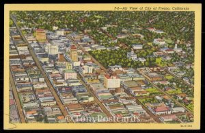 Air View of City of Fresno