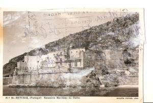 Postal 025586 : Sanatorio Maritimo do Outao Setubal (Portugal)