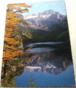 Austria Gosau-See Dachstein - posted 1980