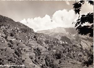 Switzerland, Mergoscia (Valle Verzasca) presso Locarno, 1963 used Real Photo