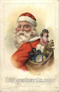 Santa Claus, Christmas, Xmas, Postcard Postcards