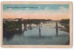 Railroad Bridge & Wharf, Columbus GA