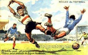 Regles du Football Soccer Unused