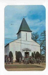 One of the eight Chapels at Camp Chaffee, Northwestern Arkansas, 40-60s