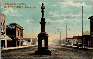 North Yakima~Spanish-American War Hero Weisenberger~(Of Whatcom-Bellingham)~1908