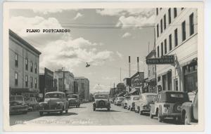 FAIRBANKS, ALASKA MAIN STREET, RPPC Postcard