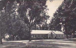 Washington Walla Walla Administration Building Va Hospital Artvue