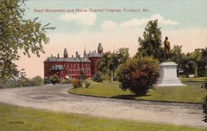 Maine Portland Reed Monument and Maine General Hospital