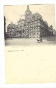 The City Hall, Baltimore, Maryland, PU-1908