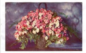 Flowers; Basket with vetches, AS M.MUELLER jr. , 00-10s