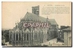 Old Postcard Nevers Cathedrale St Cyr