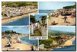 Modern Postcard Canet De Mar