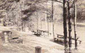 Picnic Area Bank Of Connecticut River State Forest Pennsylvania Real Photo
