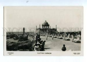 173766 PAKISTAN KARACHI Clifton Vintage photo postcard