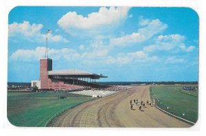 Atlantic City Race Course NJ Track Horses Racing Grandstand Vintage Postcard