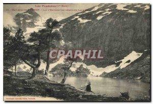 Postcard Old Surroundings of Luchon Espingo Lake above Lake Oo