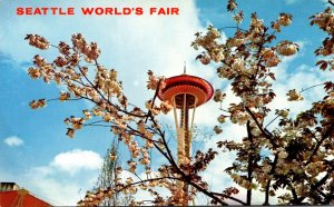 Washington Seattle World's Fair Space Needle In Spring