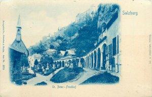 Salzburg Austria St. Peter - Friedhof 1900s