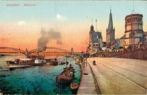 Germany - Düsseldorf Rheinufer - 01.76