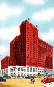 Illinois Chicago Hotel Sherman 1951