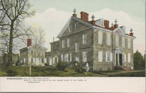The Chew House Vintage Postcard