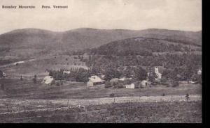 Vermont Peru  Bromley  Mountain  Albertype
