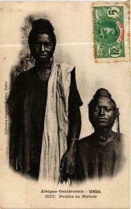 CPA AK Fortier 1157, Afrique Occidentale- Peulhs de Matam, SENEGAL (761694)