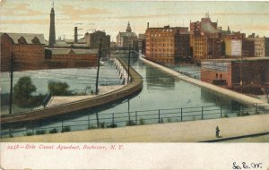Erie Canal Aqueduct Rochester New York Crossing the Genesee River pm 1907 - UDB
