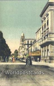 Tunis Algeria, Africa, Avenue Jules Ferry  Avenue Jules Ferry