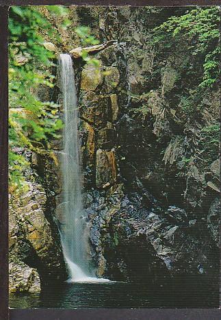 Tsuzumi Falls Arima Spa Japan Postcard BIN