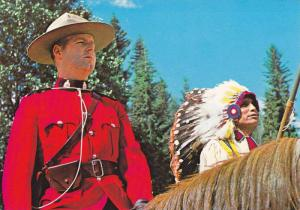 Indian & Canadian Mounted Policeman , 50-70s