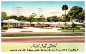 Florida  South Daytona Beach Night Falls Motel
