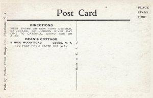 LEEDS , New York , 1910s ; Dean's Cottage