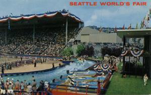 WA - Seattle, 1962. Seattle World's Fair (Century 21 Exposition). Memorial St...