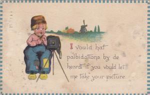 VALENTINE'S DAY; I voul hat palbidations by de heardt if you vould let me ta...