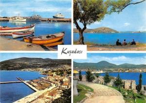 Turkey Kusadasi Harbour Boats Ship Schiff General view