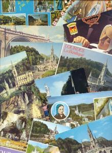 38x postcards France LOURDES Maria Grotto Basilica Cave