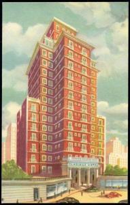 argentina, BUENOS AIRES, Claridge Hotel (1950s)