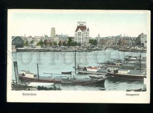 213602 HOLLAND Rotterdam Cacao Adriessen Vintage postcard
