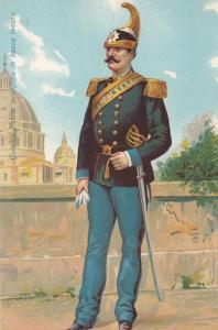 Guardia Nobile Pontificia In Bassa Tenuta Italian Military Uniform Army Postcard