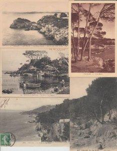 CAP BRUN VAR (DEP.83) COTE D'AZUR 107 Cartes Postales 1900-1940